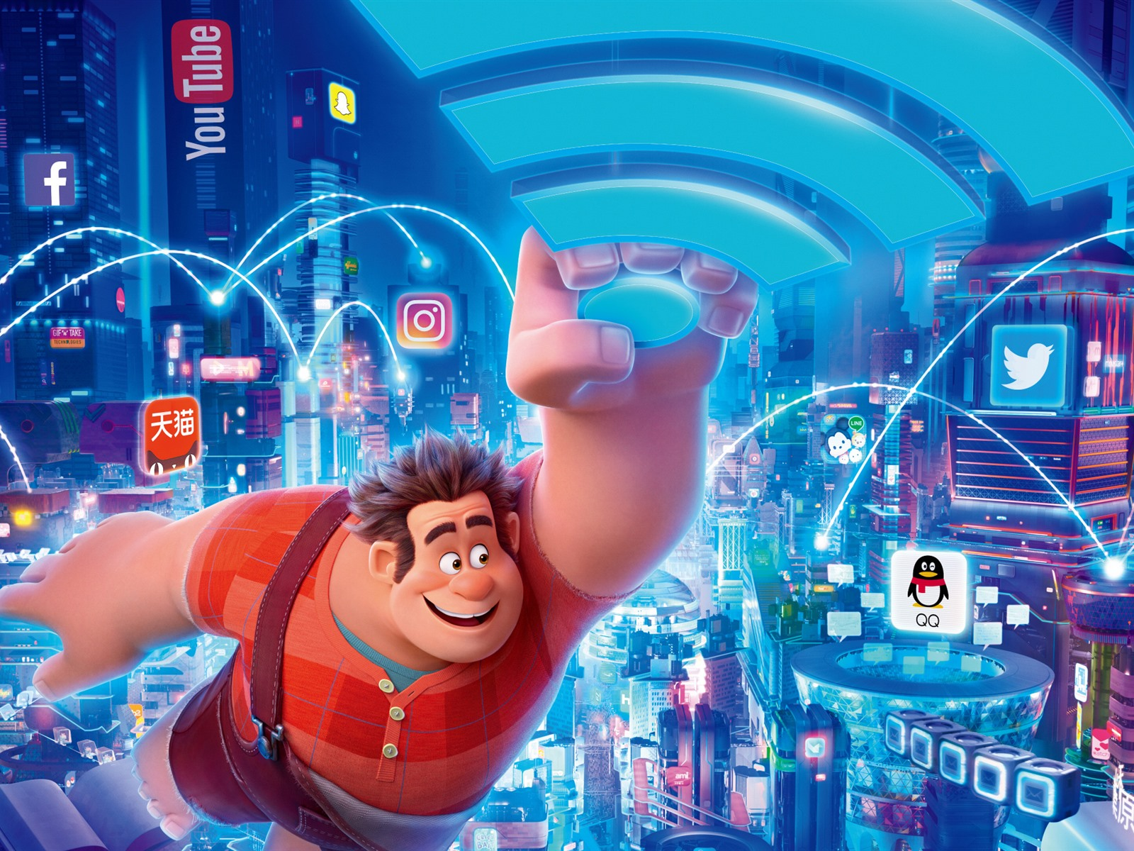 Fast And Furious 3 Full Movie >> Wallpaper Disney movie, Ralph Breaks the Internet 1920x1200 HD Picture, Image