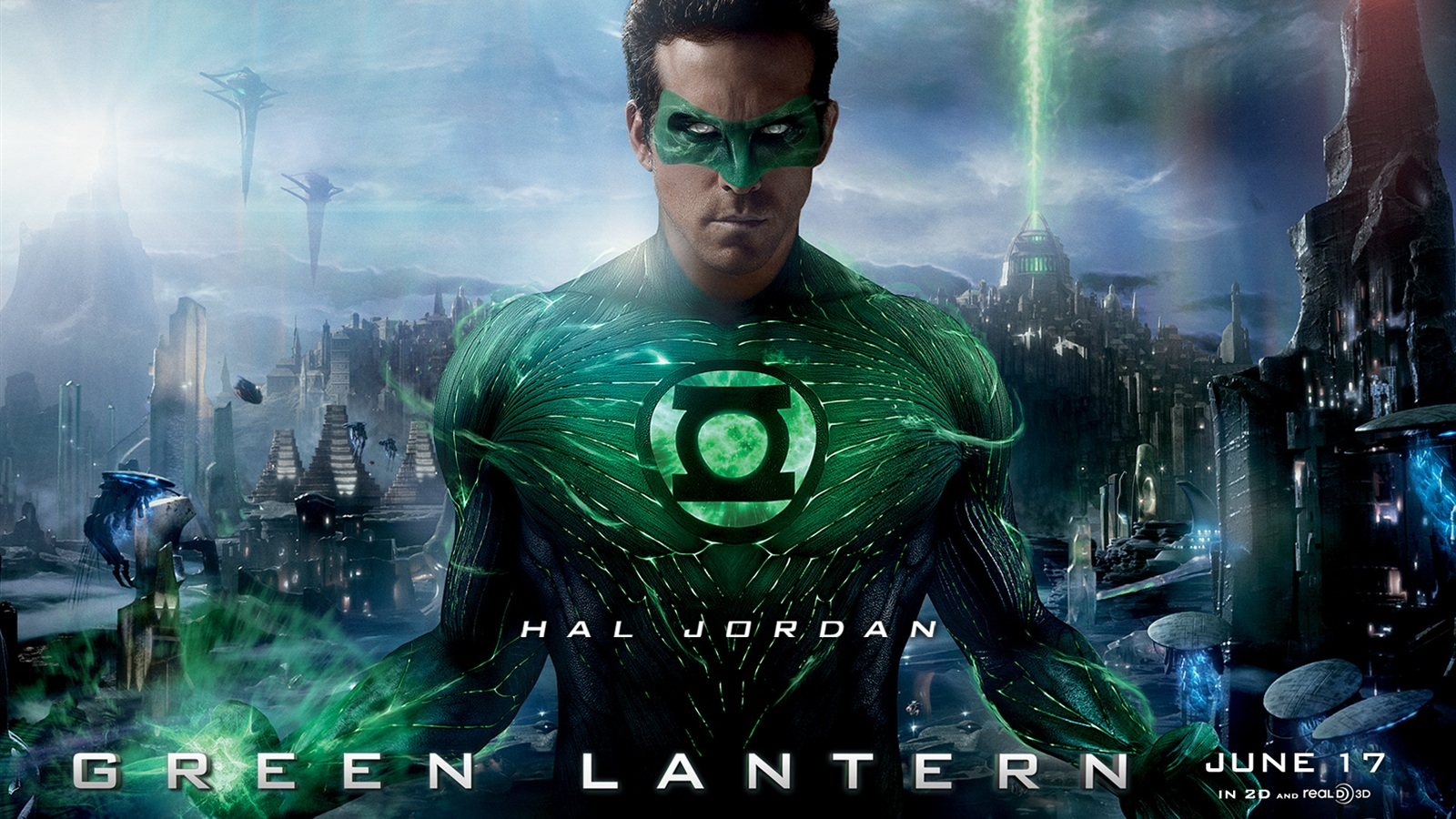 Ryan Reynolds in Green Lantern wallpaper - 1600x900