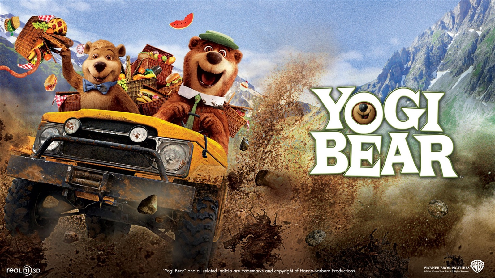 Yogi Bear wallpaper - 1600x900