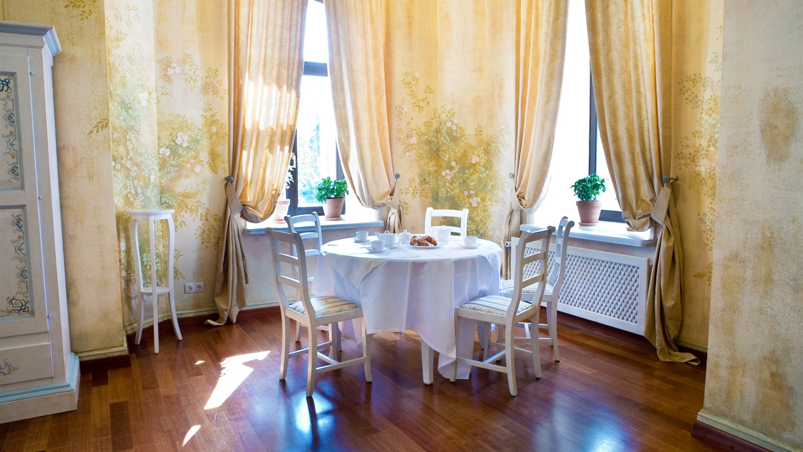Wallpaper Environment Cozy Dining Room 2560x1600 HD