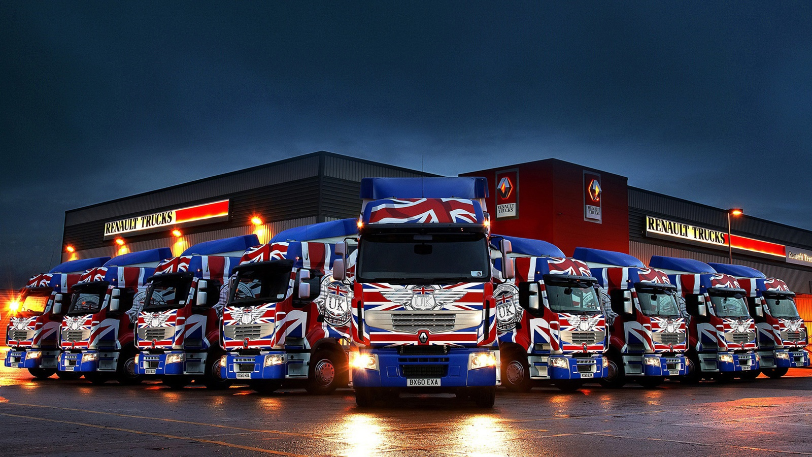 Renault trucks wallpaper - 1600x900