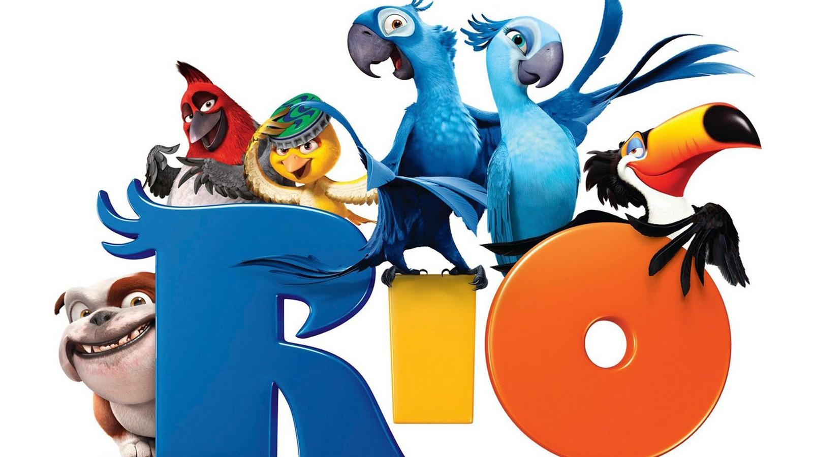 Río película de dibujos animados Fondos de pantalla - 1600x900
