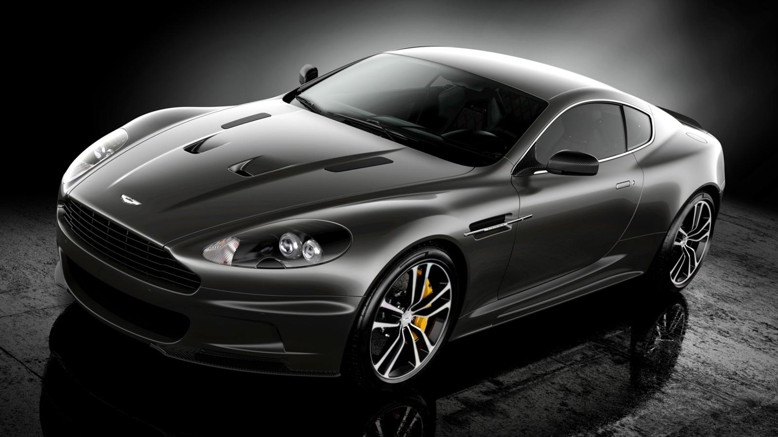 Aston Martin Supercar Black Color X
