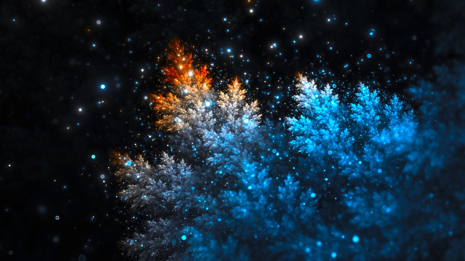Wallpaper Creative Pictures Stars Night Tree Branches 19x1080 Full Hd 2k Picture Image