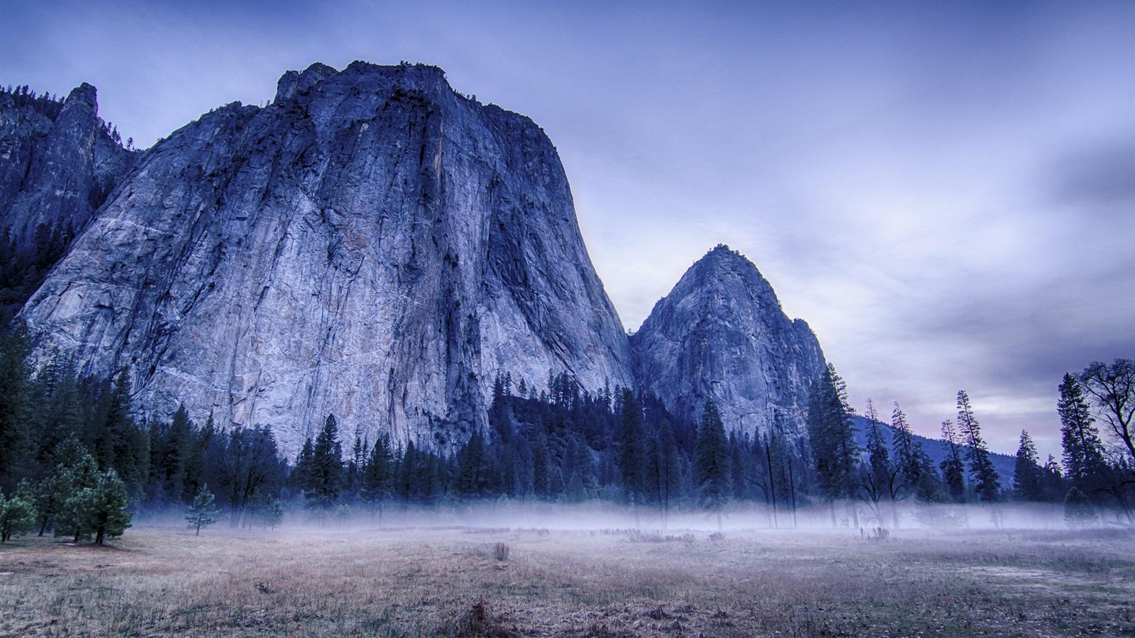 yosemite national park fog - photo #22