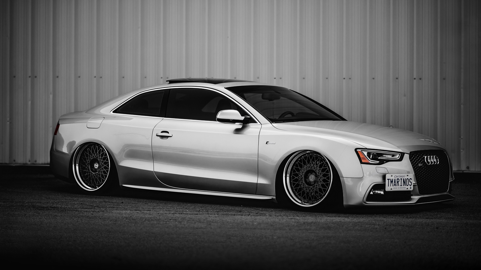 Audi s5 voiture d 39 argent vue de c t fonds d 39 cran 1600x900 fonds d 39 cran de t l chargement - Best wallpapers for s5 ...