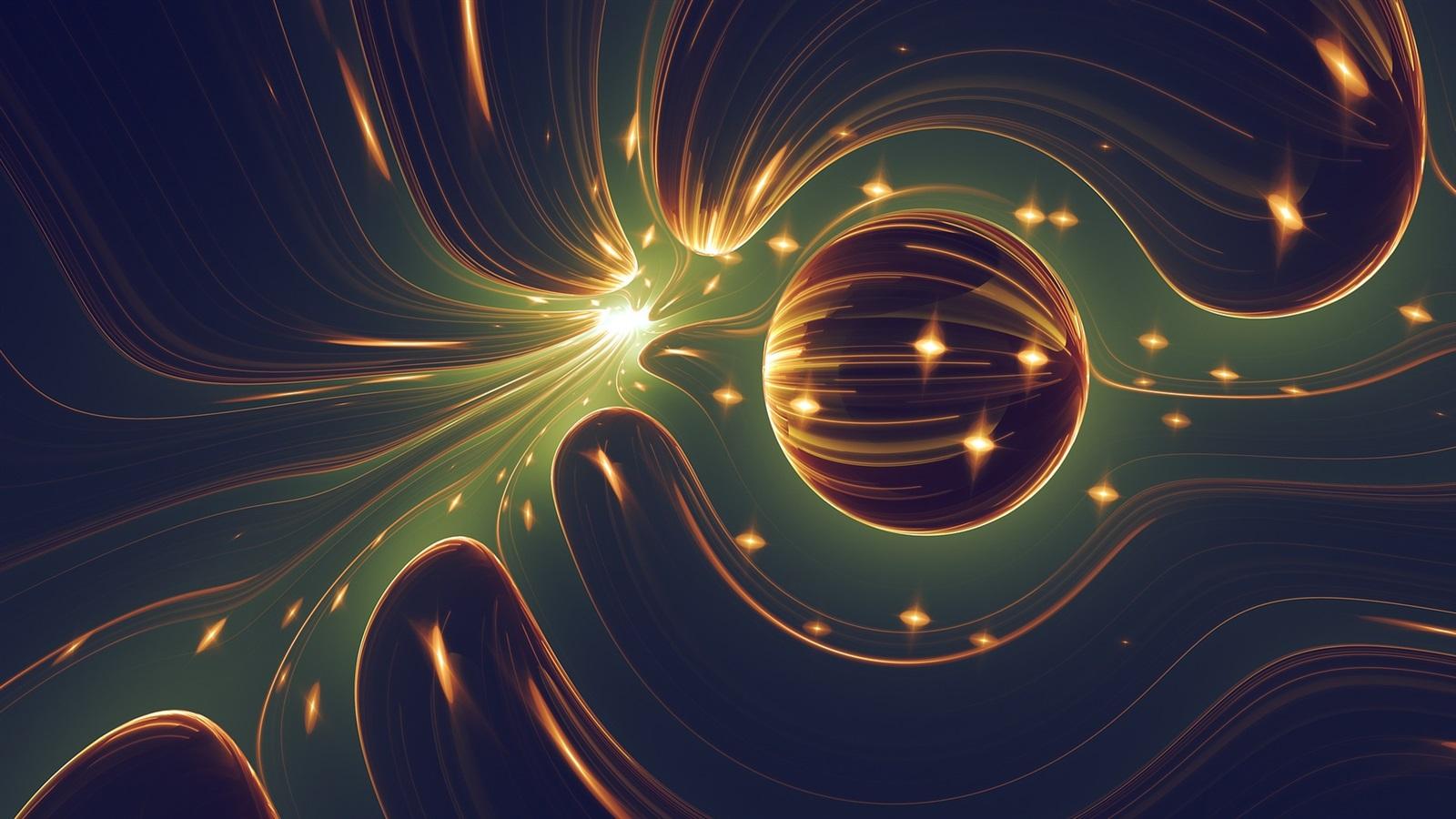 1920x1080 Abstracto Full Hd 1920x1080: Fonds D'écran Monde Abstrait, Boule, Lumière 1920x1080