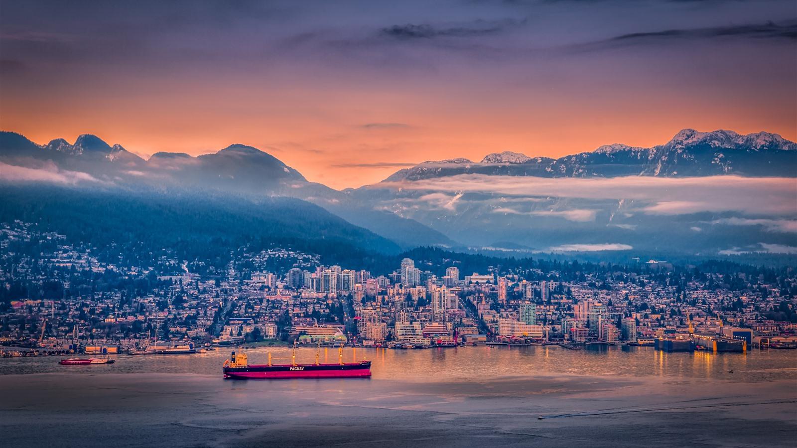 Обои дома, canada, vancouver, Канада, Cities. Города foto 11