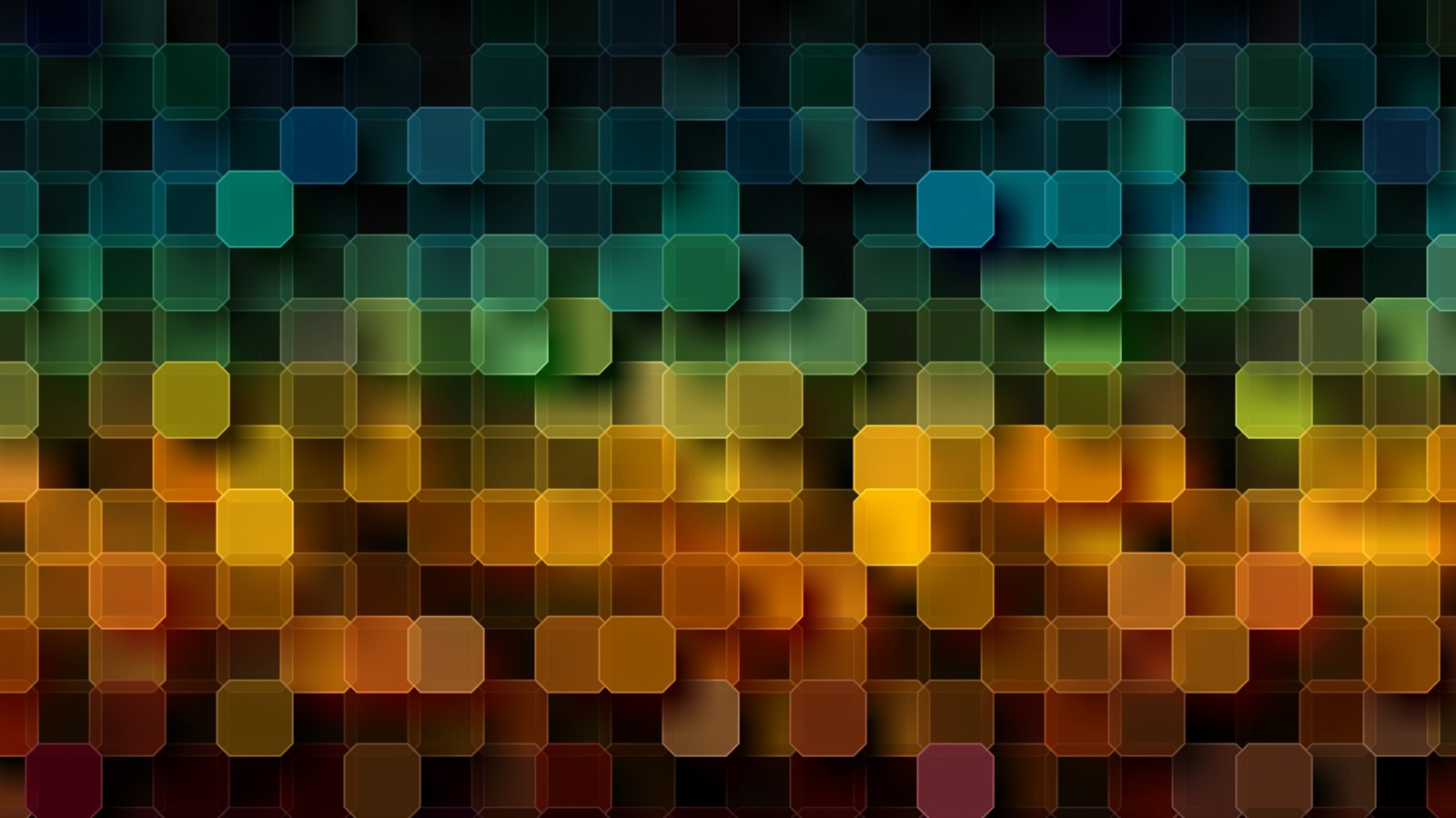Muitos Quadrados, Colorido, Abstrato 640x1136 IPhone 5/5S