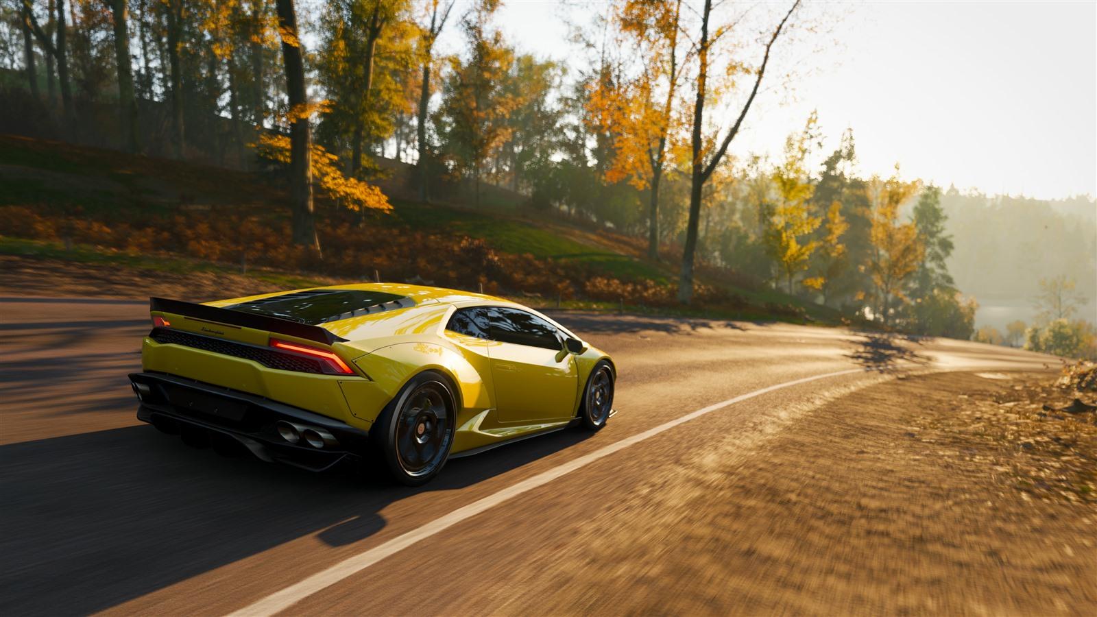 Best Car In Forza Horizon 3 >> Papéis de Parede Velocidade amarela do supercarro de ...