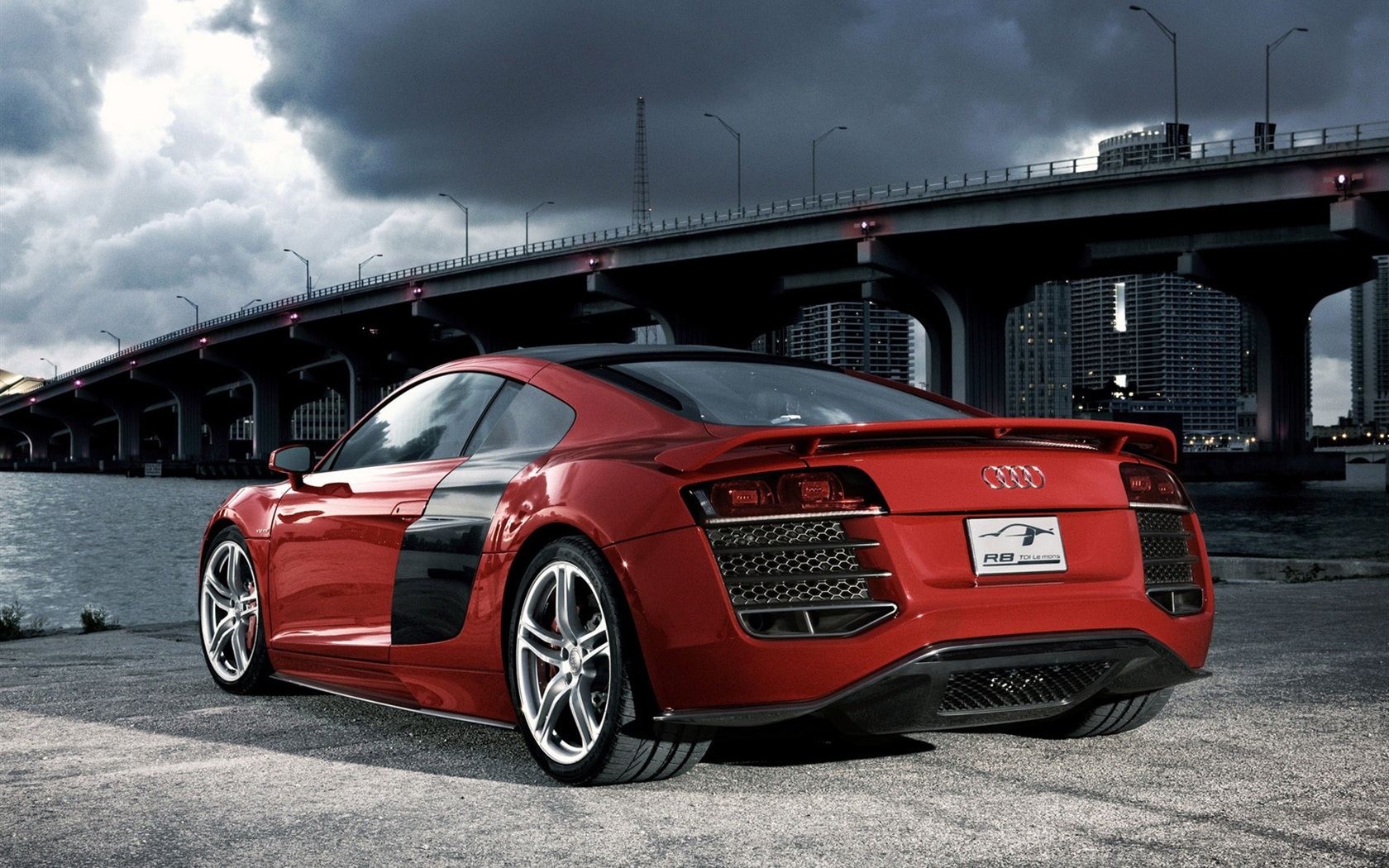Wallpaper Audi R8 Red 1600x1200 Hd Picture Image