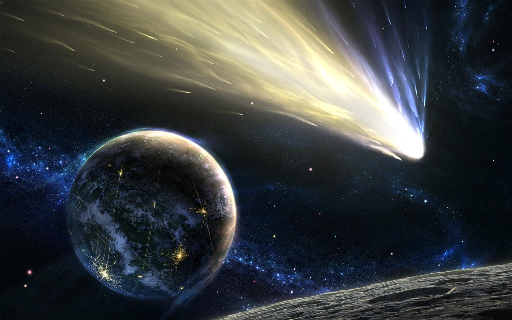 フライング彗星 壁紙 - 1680x1050   フライング彗星 壁紙