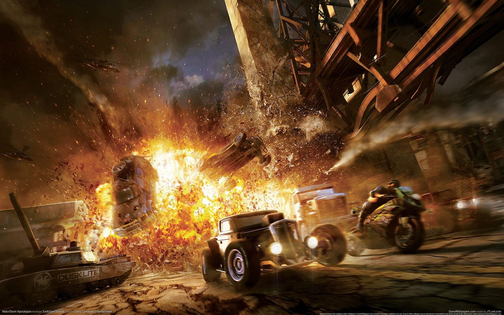 Vehicles War Vehicles Action Hd Military Images Fire: 壁紙 MotorStorm〜モーターストーム〜アポカリプス 2560x1600 HD 無料のデスクトップの背景, 画像