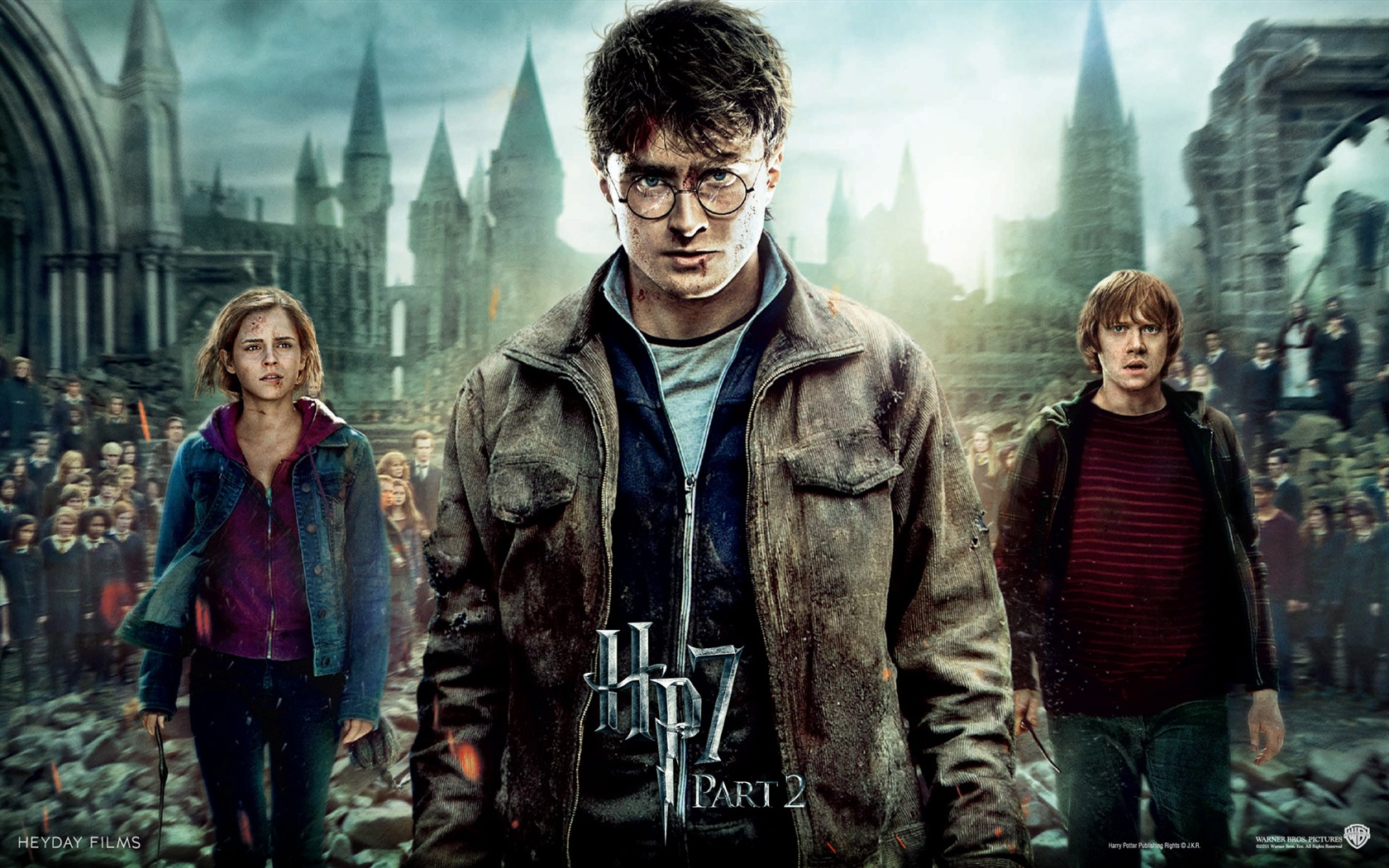 HP7 Part 2 Hero wallpaper - 1680x1050