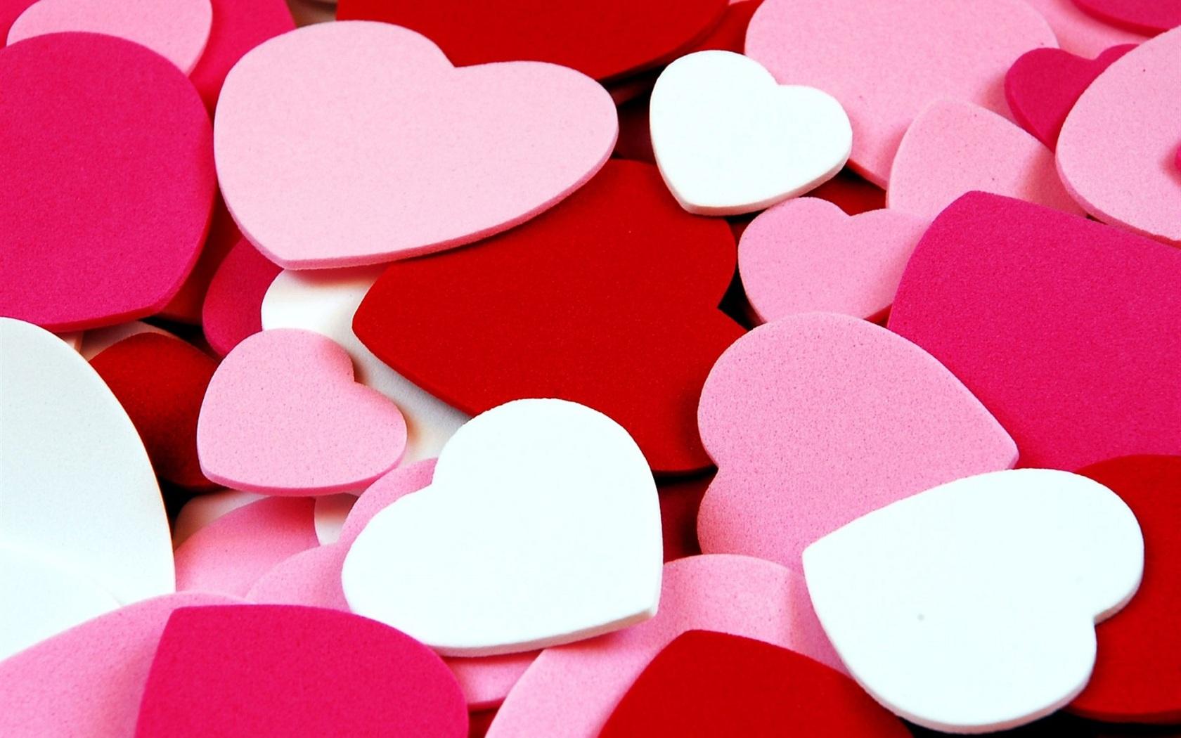 Wallpaper Love Heart-shaped Background 1600x1200 HD