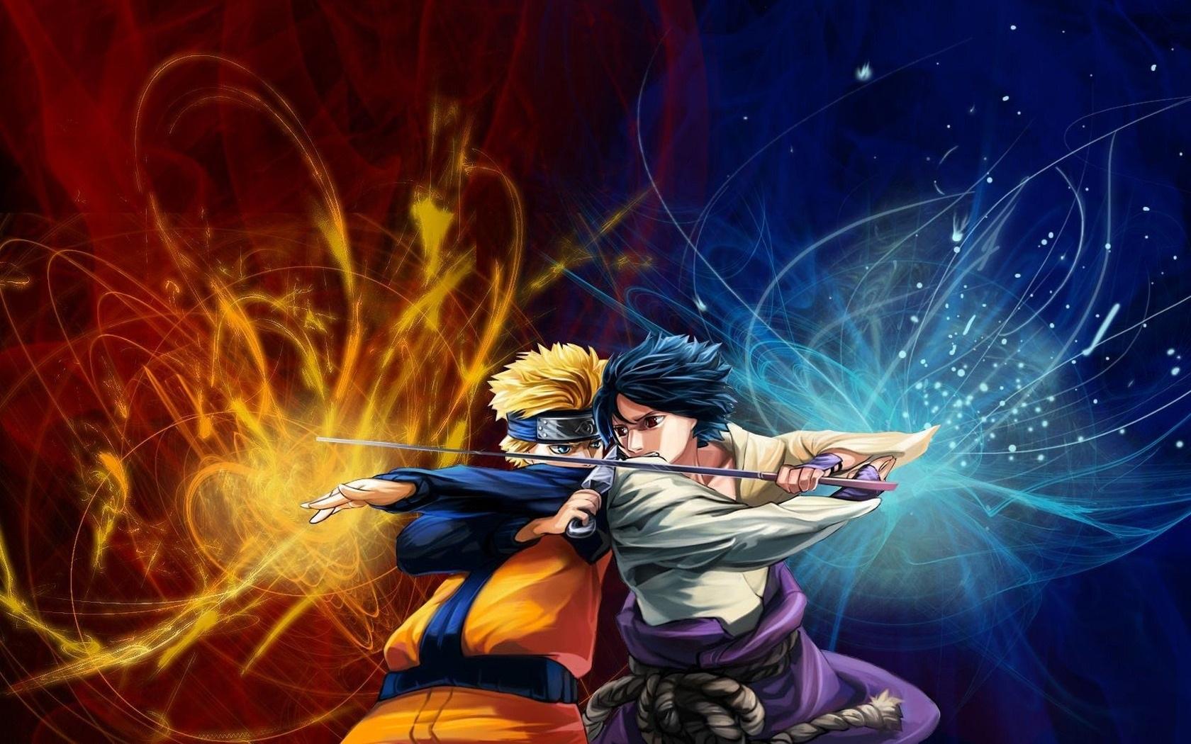 Naruto Vs Sasuke 1680x1050 Hd Hintergrundbilder Hd Bild