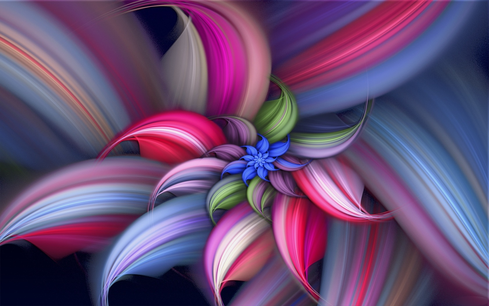 Wallpaper Colorful Abstract Beautiful Flower 1920x1200 Hd Picture Image