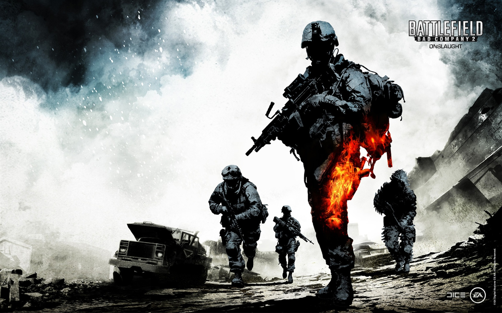 Battlefield: Bad Company 2 wallpaper - 1680x1050