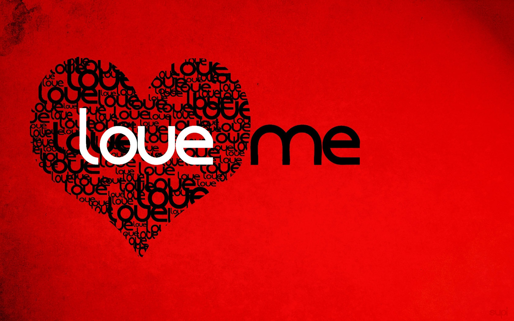 Love me wallpaper - 1680x1050