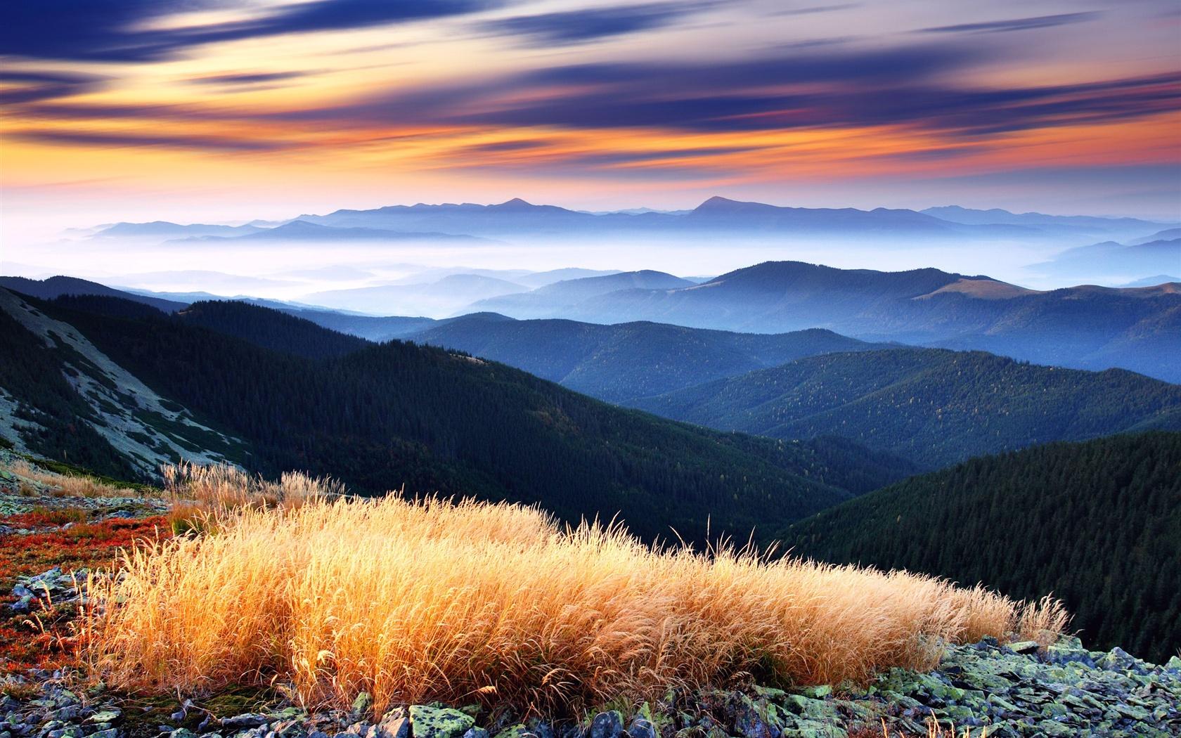 Mountains beautiful scenery Wallpaper | 1680x1050 ...