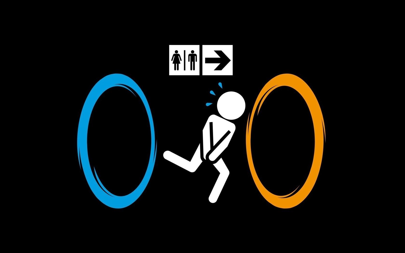 signes de toilette Fonds d'écran