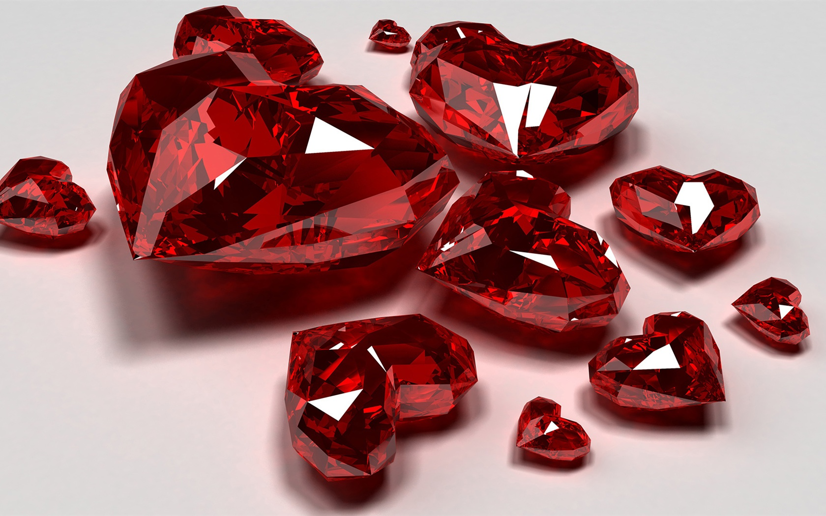 Jewelry of ruby close-up wallpaper - 1680x1050