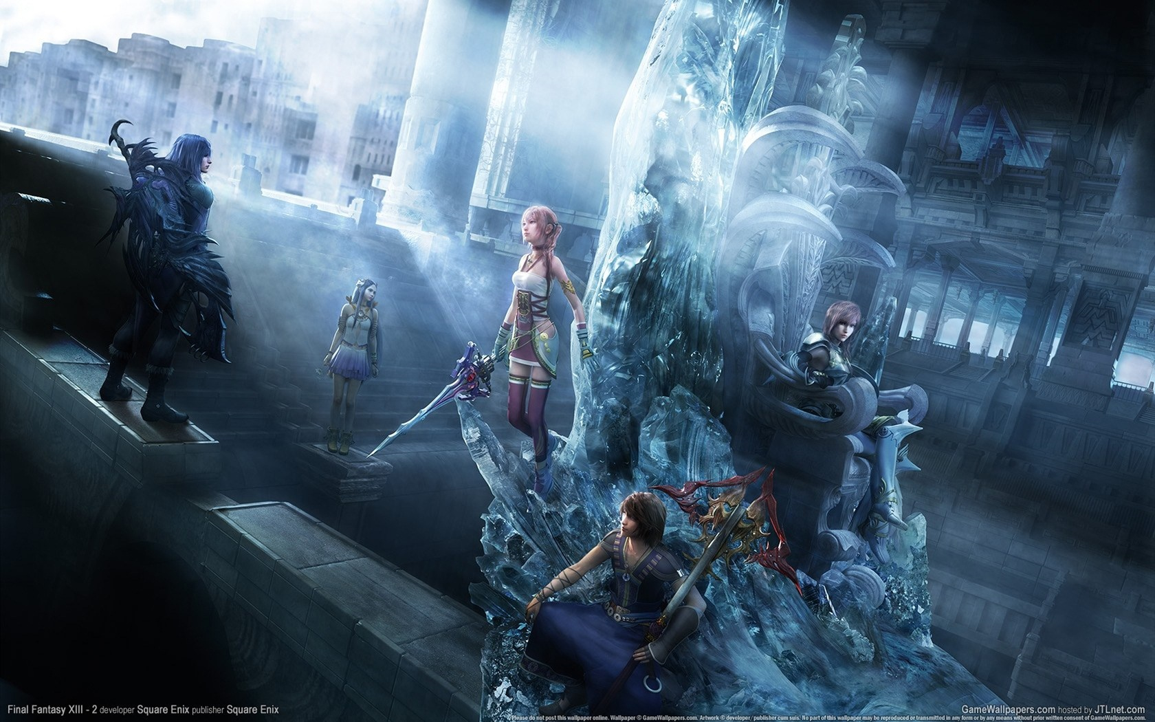 Final Fantasy Xv Royal Edition Hd Games 4k Wallpapers: 壁紙 ファイナルファンタジーXIII-2のPCゲーム 1680x1050 HD 無料のデスクトップの背景, 画像