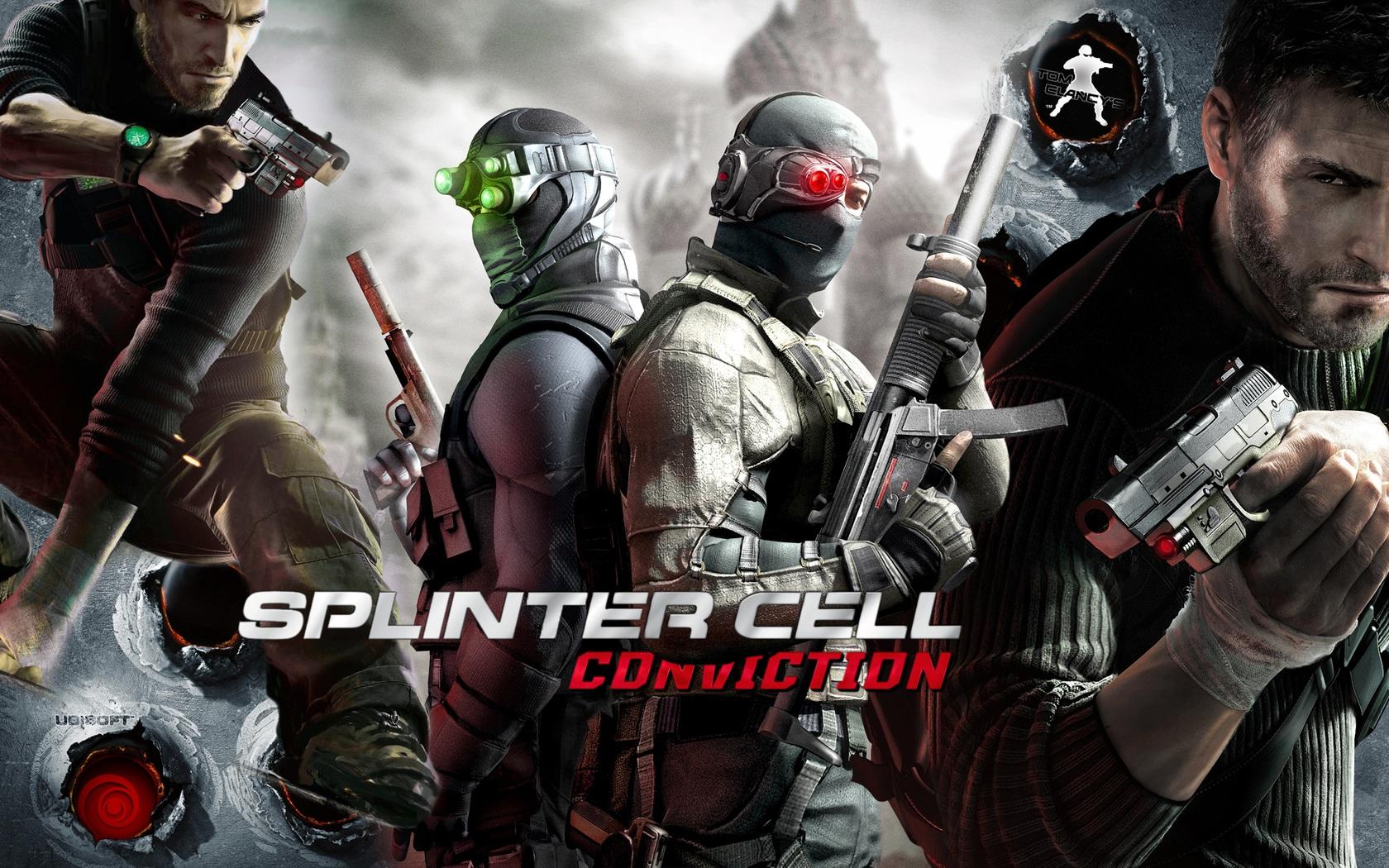 Wallpaper Tom Clancy Splinter Cell Conviction 1680x1050 Hd