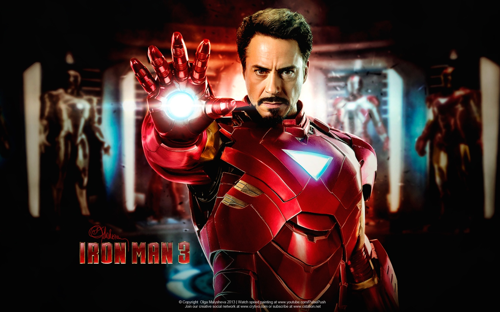 Fonds d 39 cran iron man 3 robert downey jr 2013 film - Iron man 2 telecharger ...