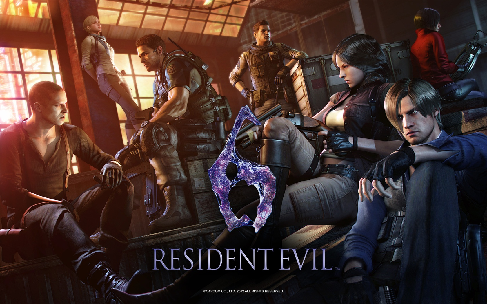 Wallpaper Resident Evil 6 Game Hd 1920x1080 Full Hd 2k Picture Image