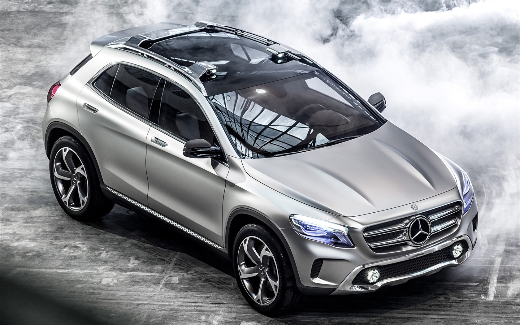 mercedes benz gla concept car beleuchtung silber 1920x1440 hd hintergrundbilder hd bild. Black Bedroom Furniture Sets. Home Design Ideas