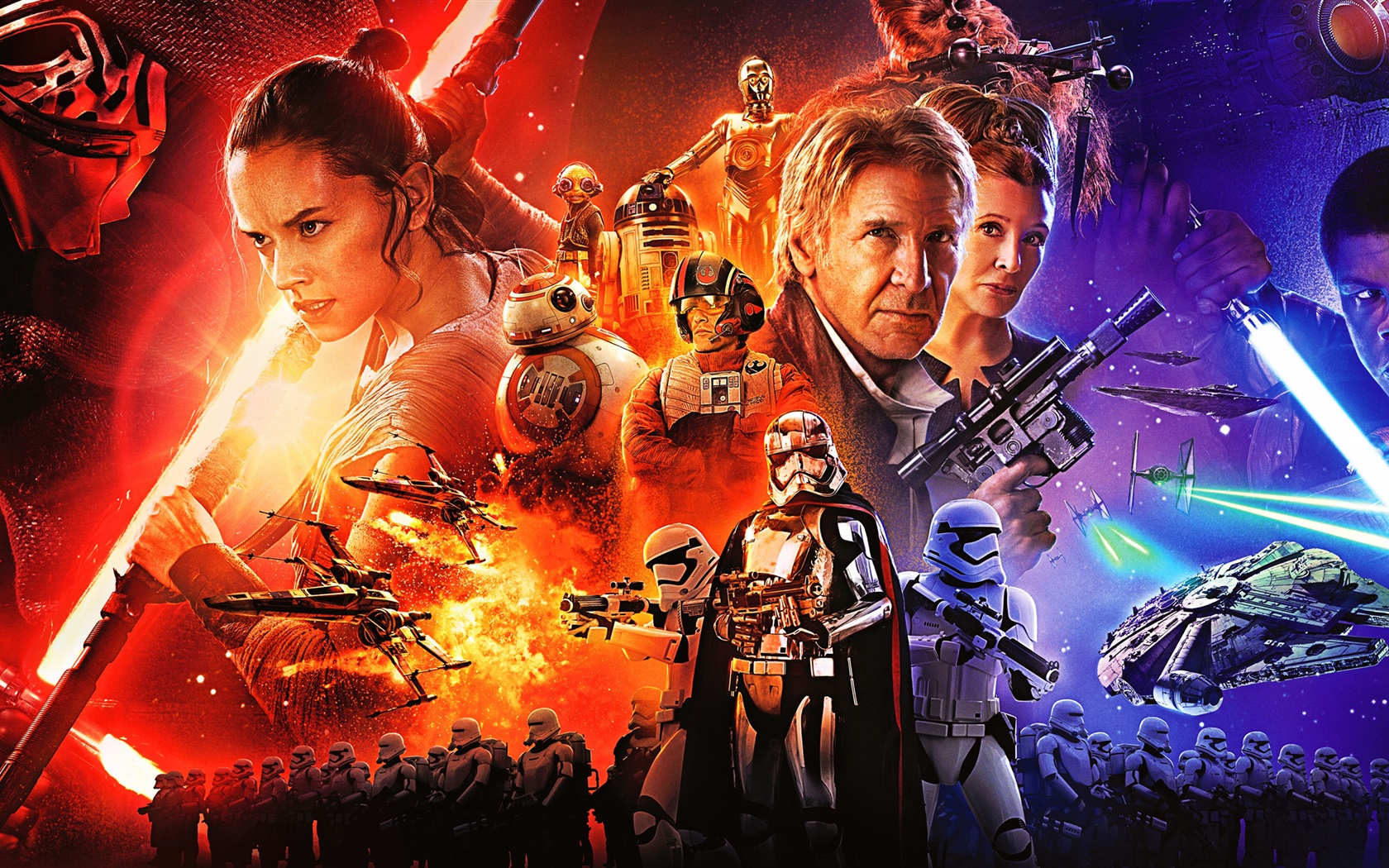 Star Wars The Force Awakens Wallpaper: Wallpaper Star Wars Episode VII: The Force Awakens