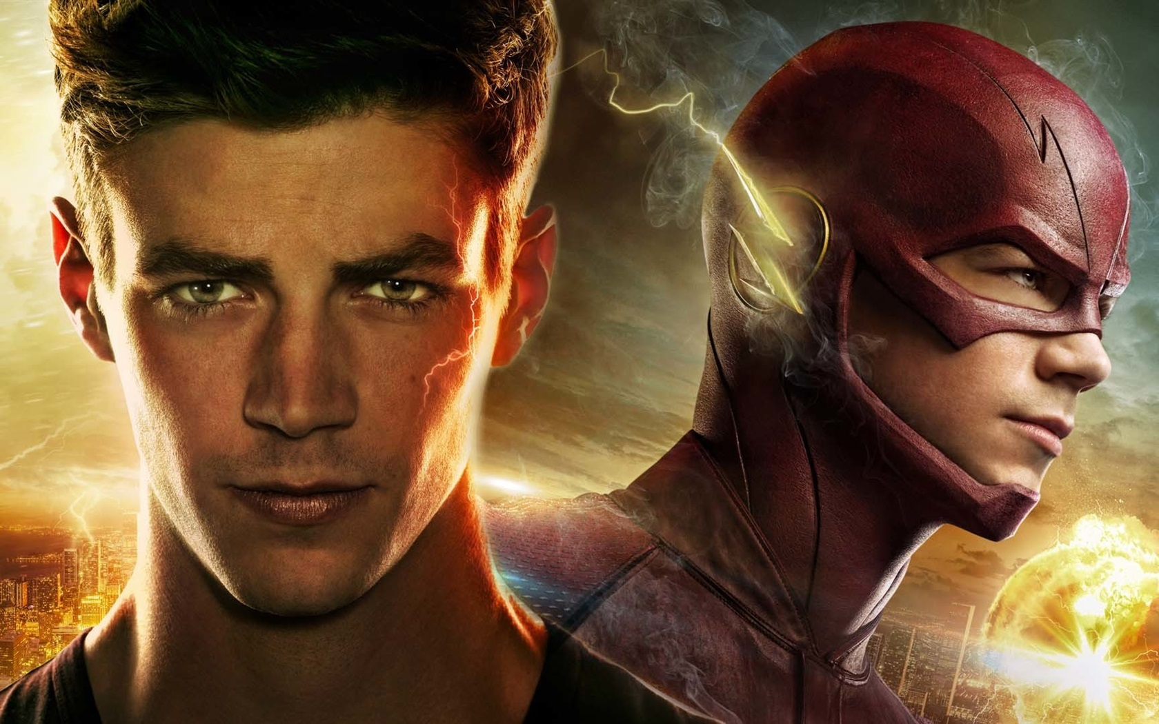 Fonds D'écran Grant Gustin, The Flash Barry Allen