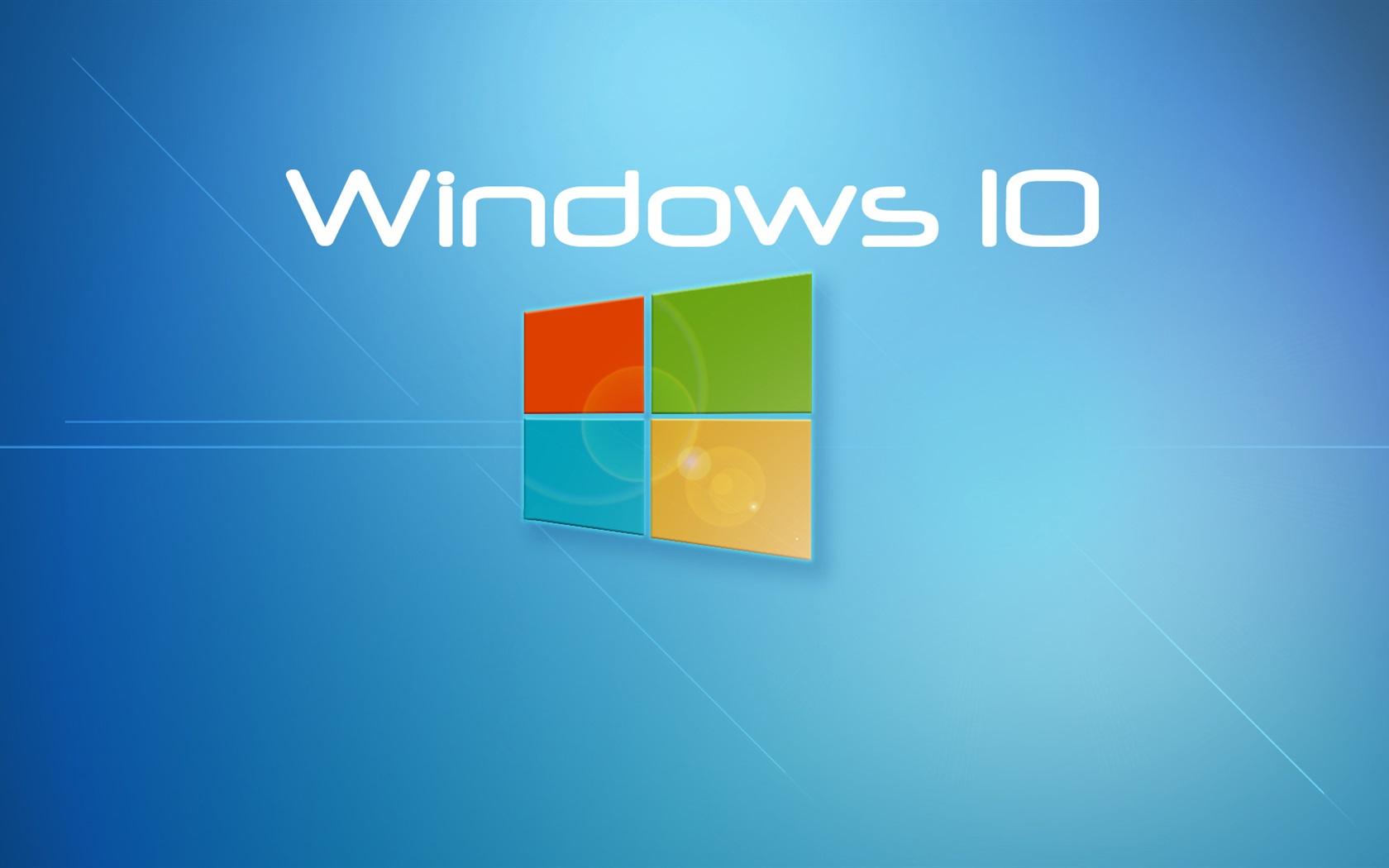 Fonds d 39 cran windows 10 syst me fond bleu 1920x1080 full - Windows 10 4k wallpaper pack ...