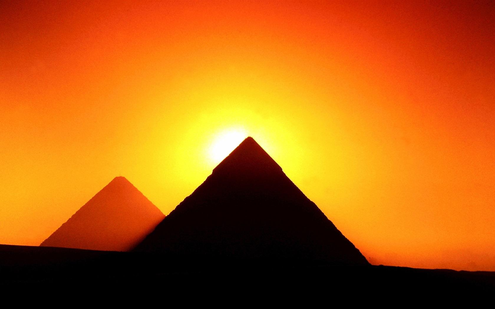 Египетские пирамиды обои