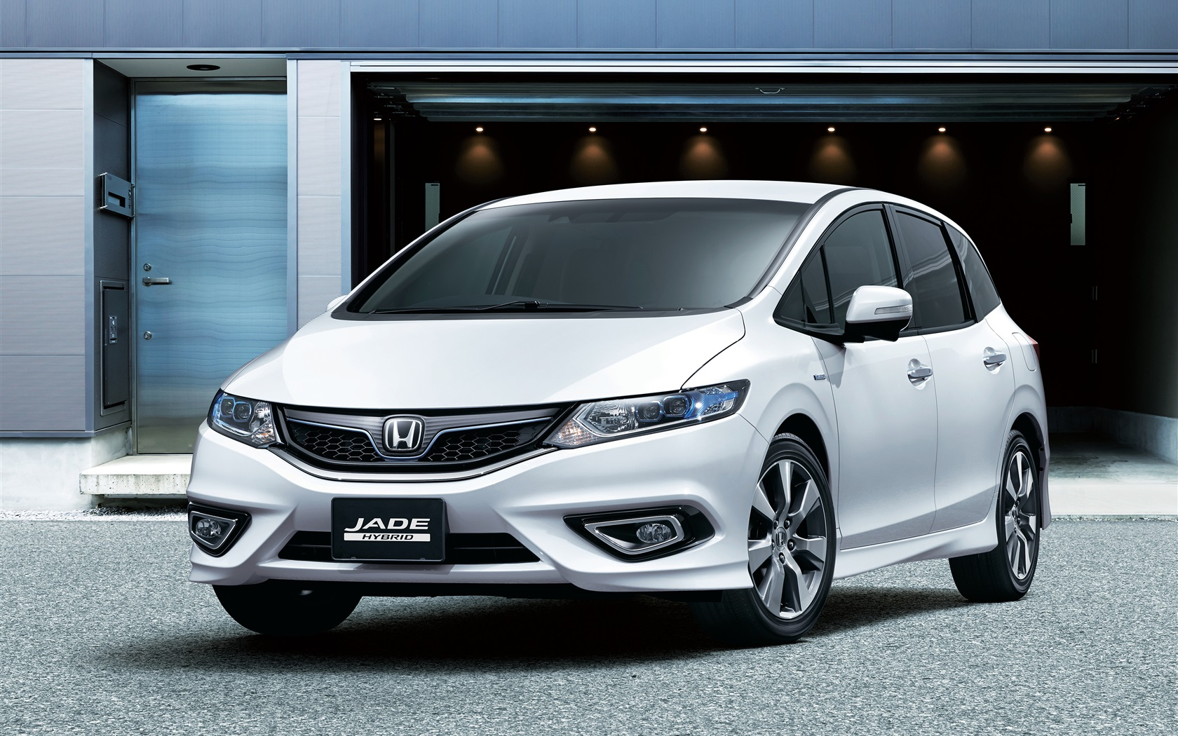 Honda Jade Hybrid Auto Vorderansicht 3840x2160 UHD 4K