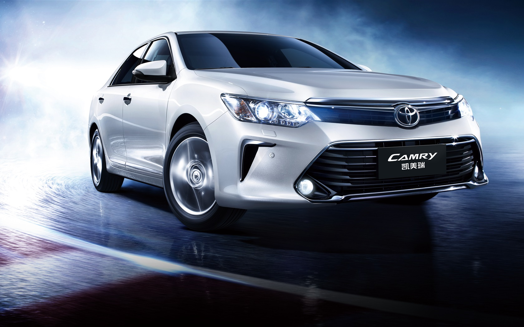 toyota camry 10th anniversary car speed wallpaper. Black Bedroom Furniture Sets. Home Design Ideas