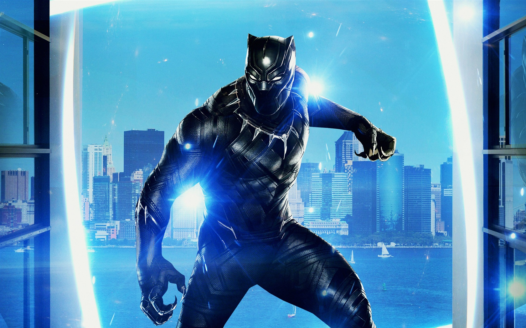 Black Panther 2018 Movie Still Full Hd Wallpaper: Wallpaper 2018 Movie, Black Panther 1920x1440 HD Picture