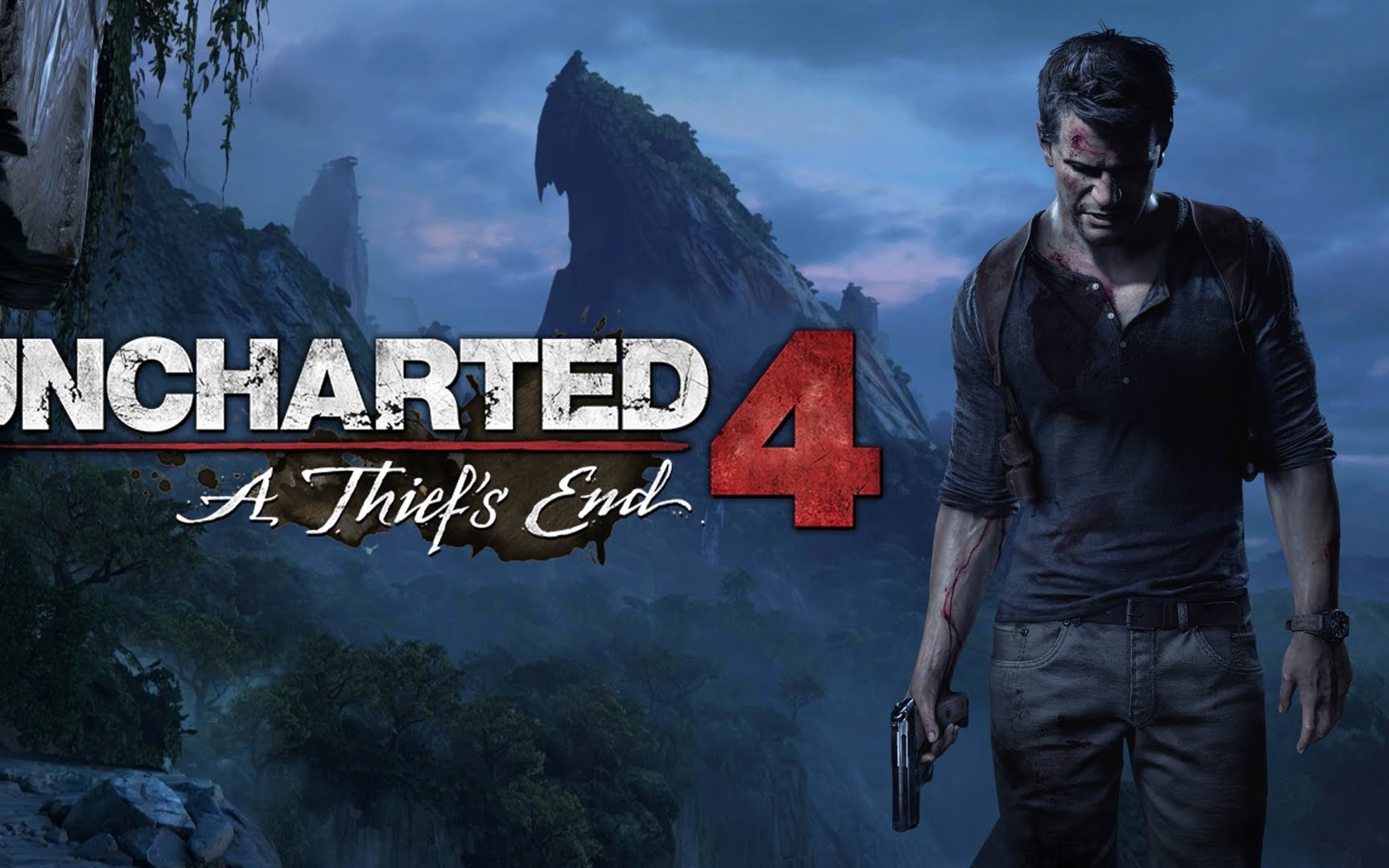 Uncharted 4: A Thief's End wallpaper 1680x1050