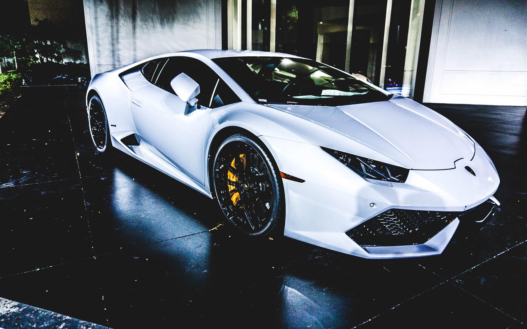 Fondos De Pantalla 4k Coches: Fondos De Pantalla Coche Deportivo Blanco Lamborghini