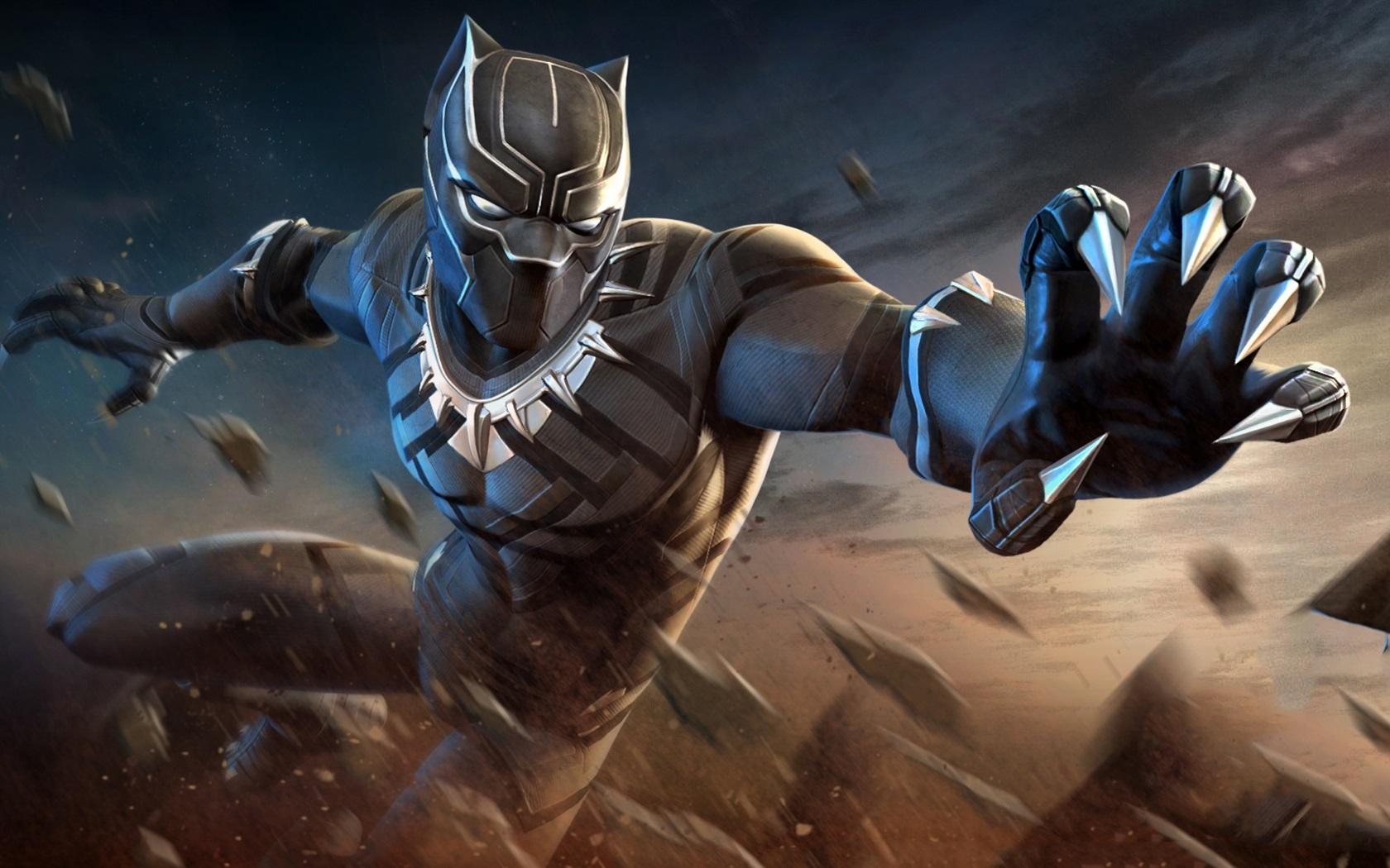 Pantera Negra Manos Superhéroe 640x960 Iphone 44s Fondos De Pantalla