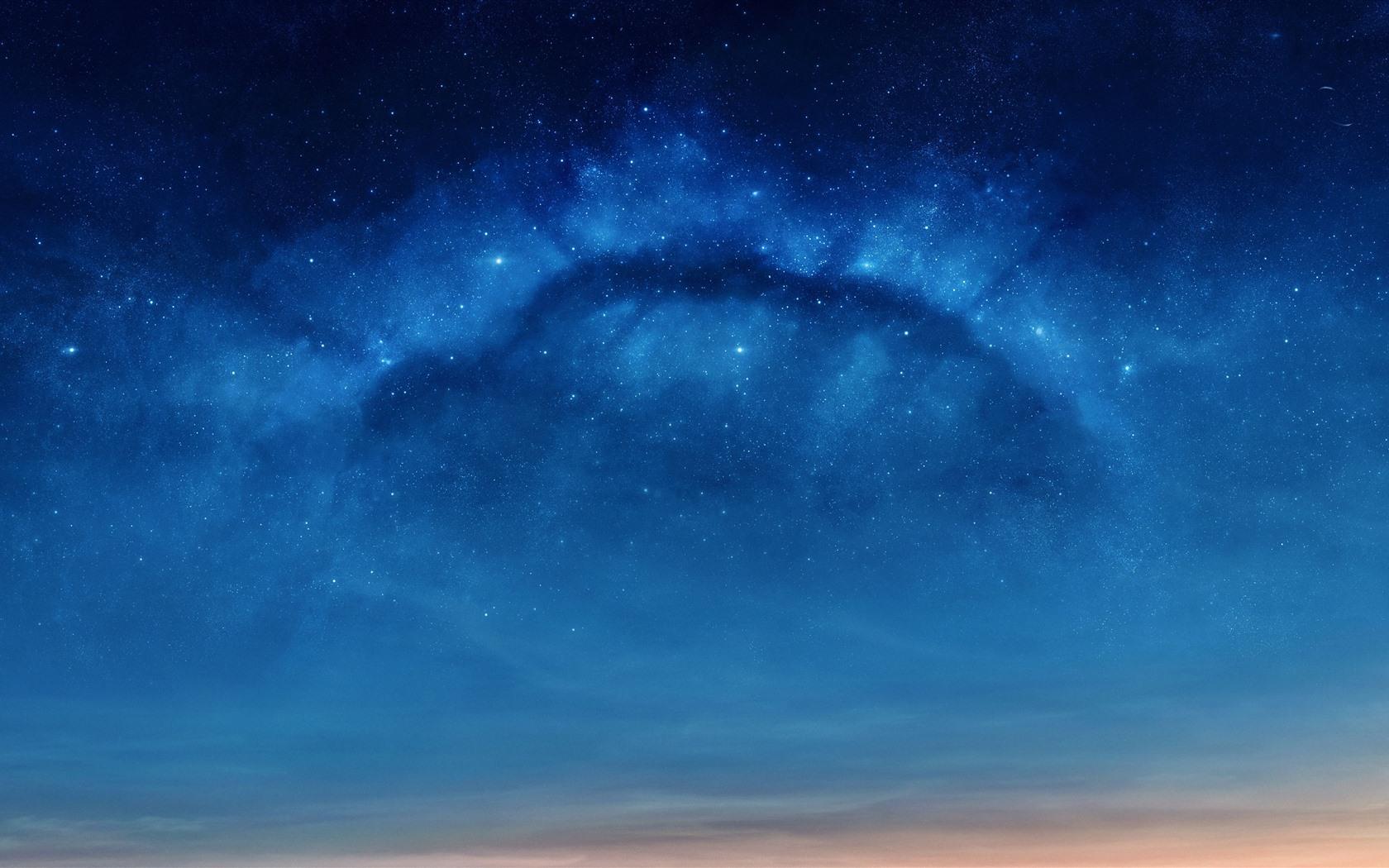 Wallpaper Stars Blue Sky Night 5120x2880 Uhd 5k Picture Image