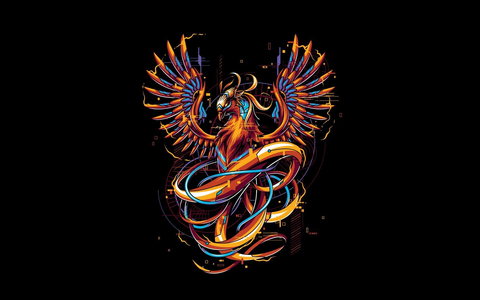 Fonds D Ecran Phoenix Photo D Art Design Creatif 2560x1440 Qhd Image