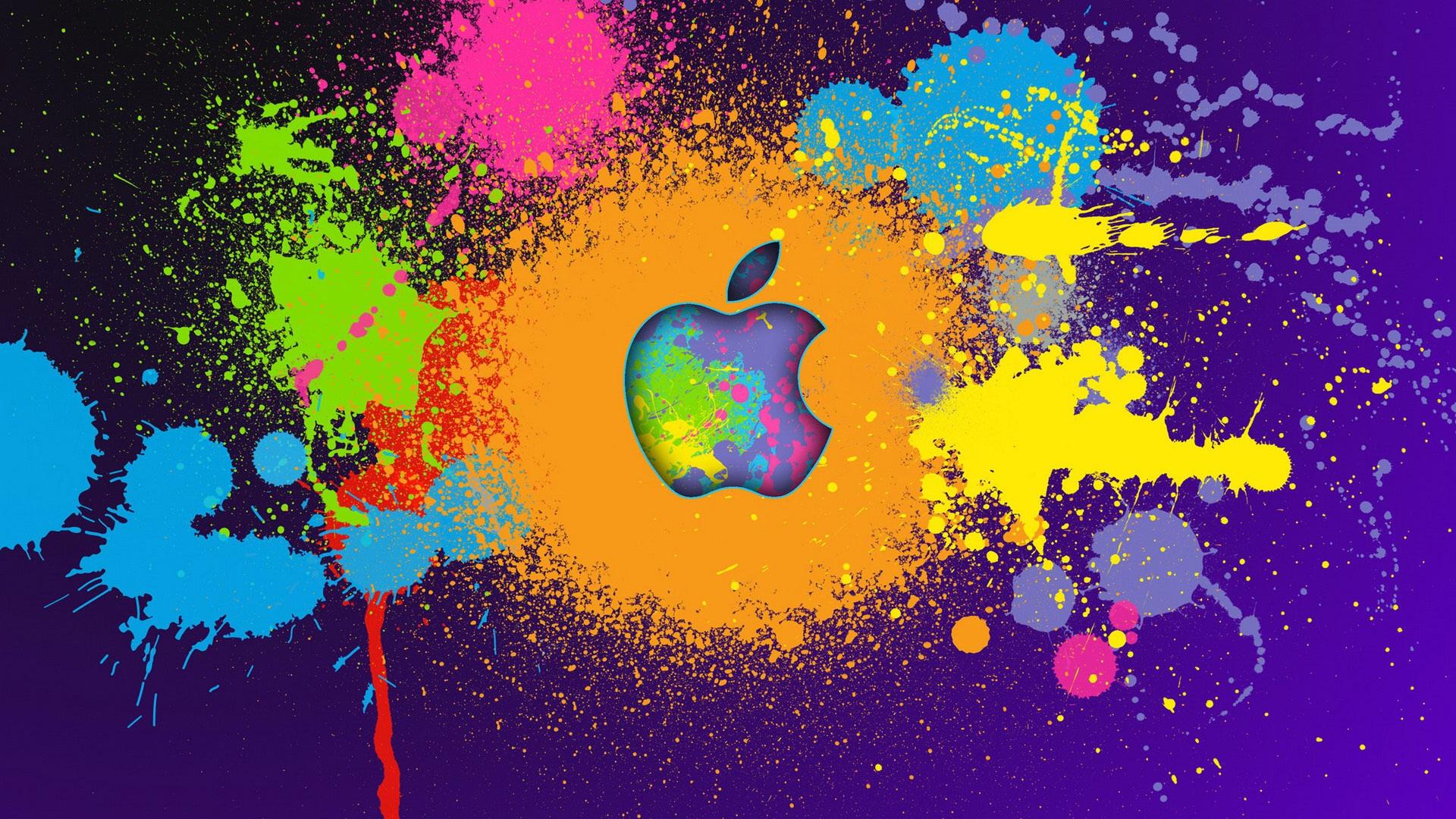 Fondos De Pantalla Apple Pintura Colorida 1920x1200 Hd Imagen