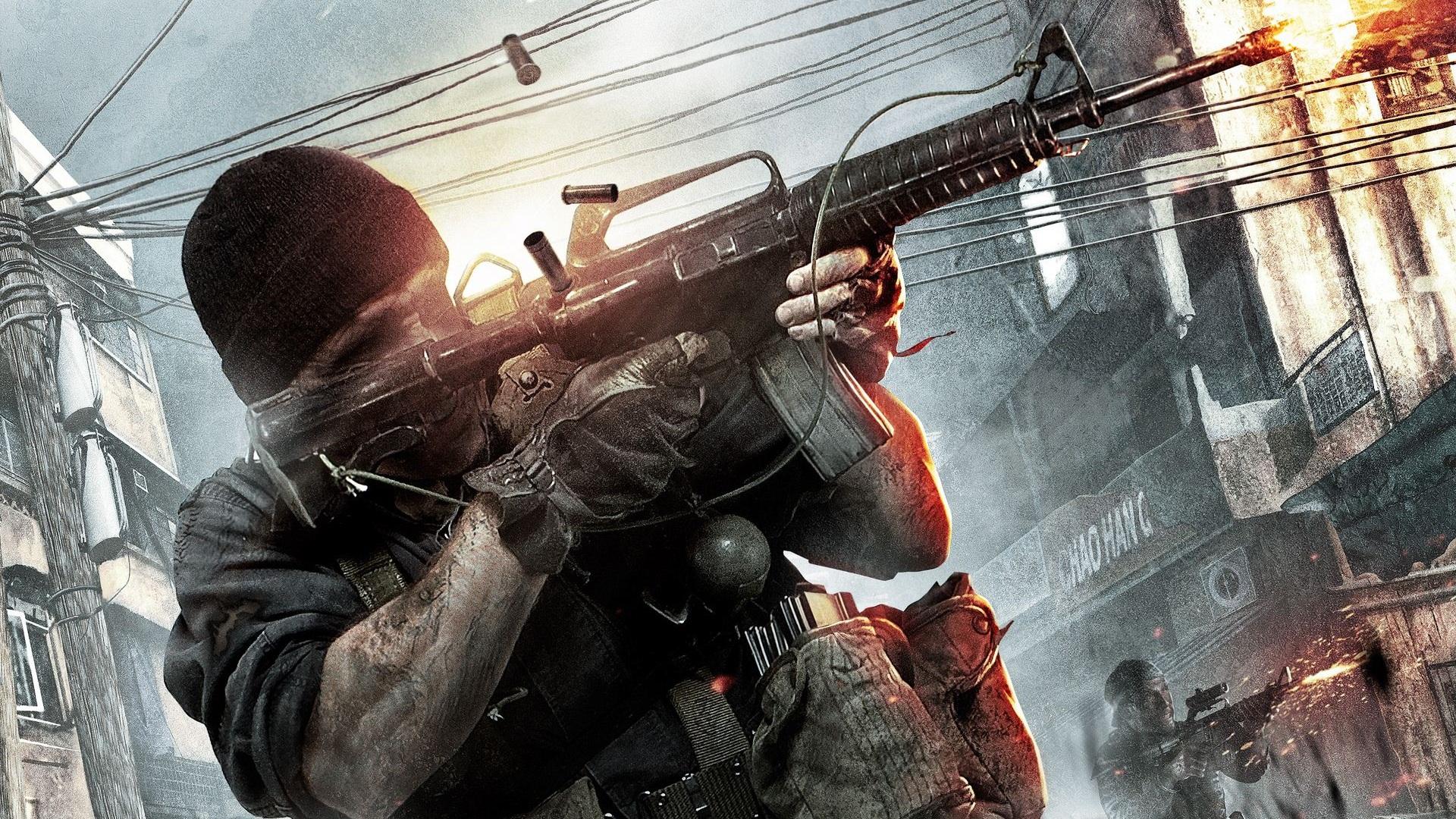 Fondos De Pantalla Call Of Duty Operaciones Negro Hd