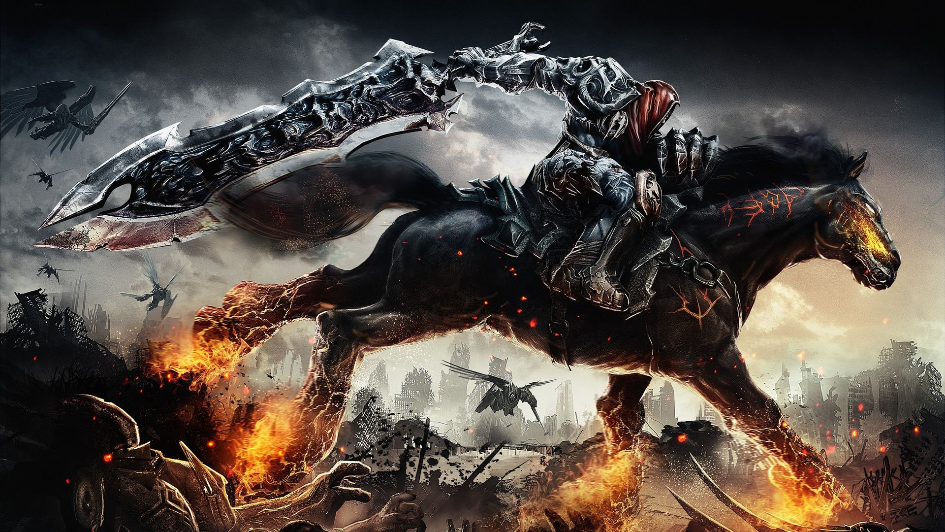 darksiders wrath of war wallpaper [1920x1080] : wallpaper