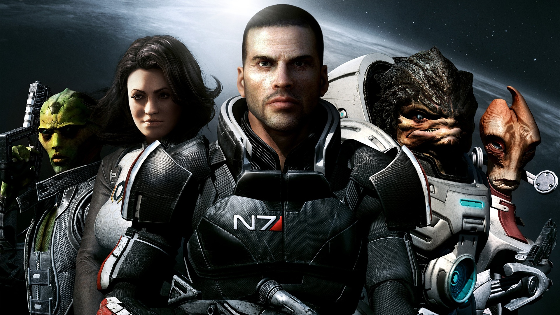 Wallpaper Mass Effect 2 2560x1600 Hd Picture Image