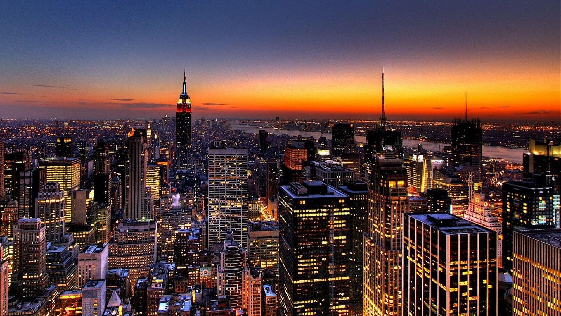 Skyline von new york hintergrundbilder 1920x1080