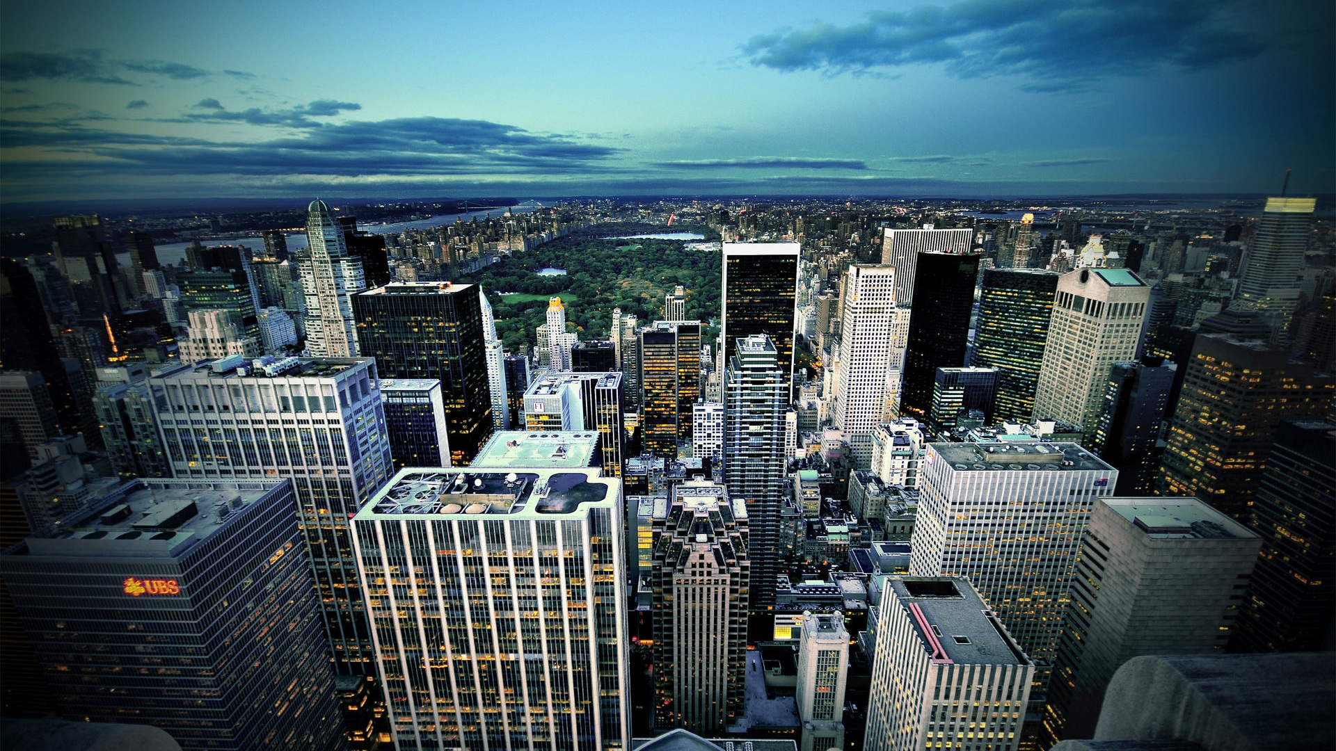 Wallpaper New York City from above 1920x1200 HD Picture, Image Dark Forest Wallpapers Widescreen