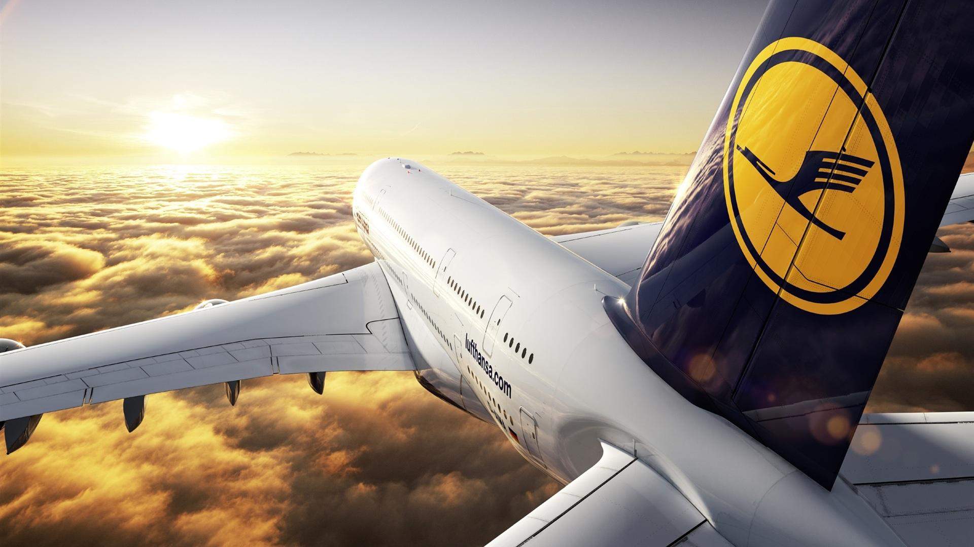 Airbus A380 Hintergrundbilder - 1920x1080